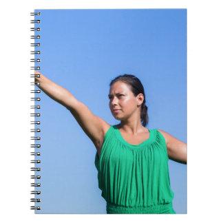 Carnet Boomerang de lancement de femme néerlandaise en