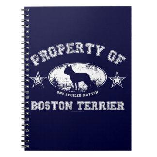 Carnet Boston Terrier