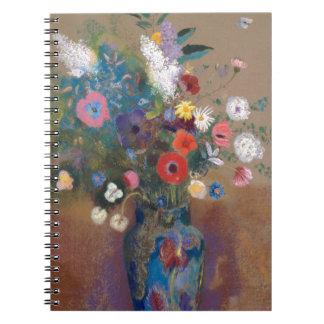 Carnet Bouquet des fleurs - Odilon Redon