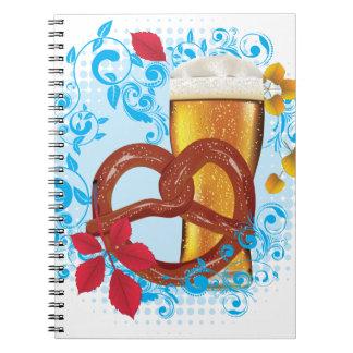 Carnet Bretzel de bande dessinée avec de la bière 3