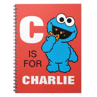 Carnet C est pour le monstre de biscuit que | ajoutent