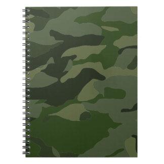 Carnet Camouflage kaki