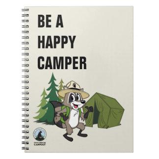 Carnet Campout américain de Rick   de garde forestière