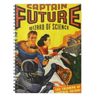 Carnet Capitaine Fure et les chiens de l'espace