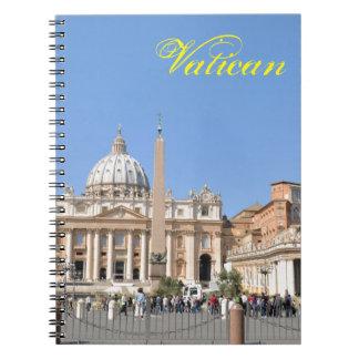 Carnet Carré de San Pietro à Vatican, Rome, Italie