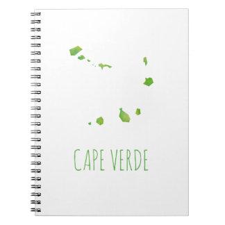 Carnet Carte du Cap Vert