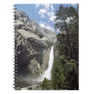 Carnet Cascade de Yosemite