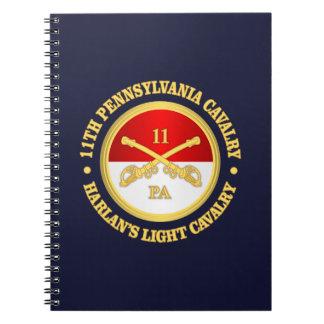 Carnet Cavalerie de la PA 11