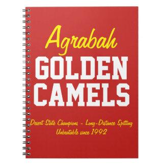 Carnet Chameaux d'or d'Agrabah