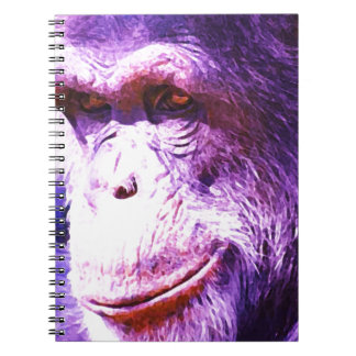 Carnet Chimpanzé de sourire