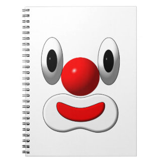Carnet Clown joyeux