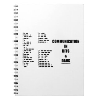 Carnet Communication dans Dits et Dahs (code Morse)