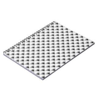 Carnet conception de compartiment dans le gris…