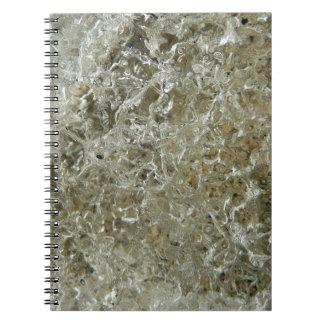 Carnet Conception texturisée par nature glaciaire
