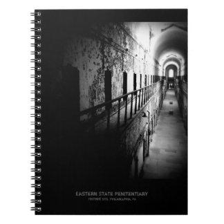 Carnet Couloir oriental de prison d'état - B&W