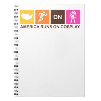 Carnet Courses de l'Amérique sur Cosplay