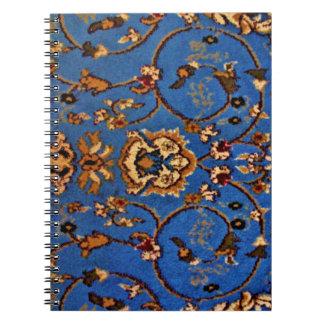 Carnet Couverture orientale bleue