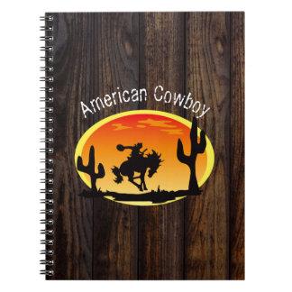 Carnet Cowboy américain