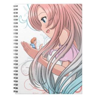 Carnet Cute Anime portable
