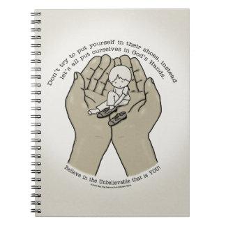 Carnet Dans des mains de Dieu