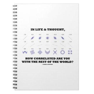 Carnet Dans la vie pensée comment Correlated sont vous