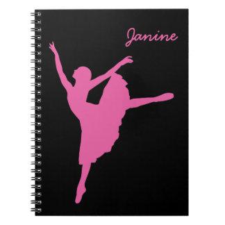 Carnet Danseur classique rose