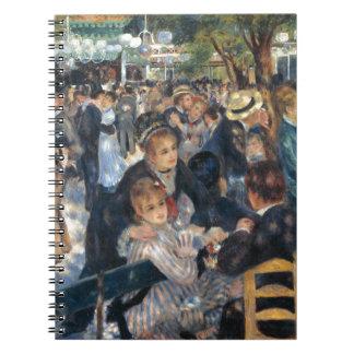 Carnet Dansez à la La Galette de Le Moulin de par Renoir