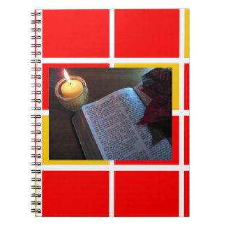 Carnet de bible et de photo de bougie (80 pages