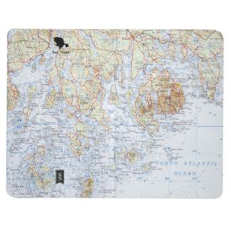 Carnet de carte de Downeast Maine