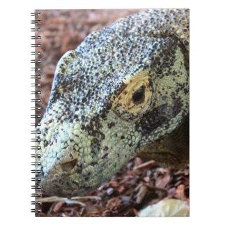 Carnet de dragon de Komodo