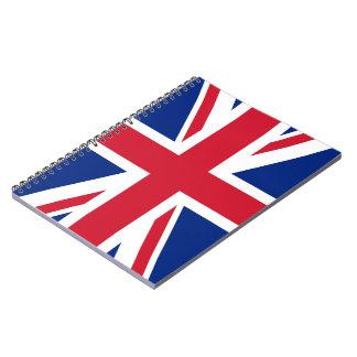 Carnet de drapeau d'Union Jack