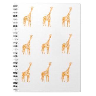Carnet de girafe