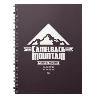 Carnet de montagne de Camelback (foncée) -