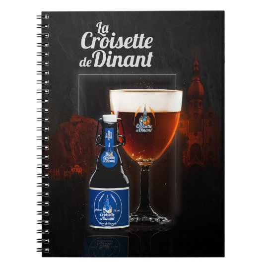 """carnet de notes """"La Croisette de Dinant"""""""