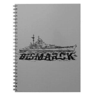 Carnet de photo de Bismarck (80 pages B&W)