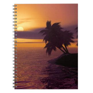 Carnet de photo de lever de soleil