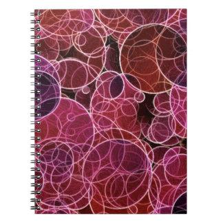 Carnet de photo de motif de Pink_Purple_Red