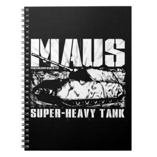 Carnet de photo de Panzer VIII Maus (80 pages B&W)