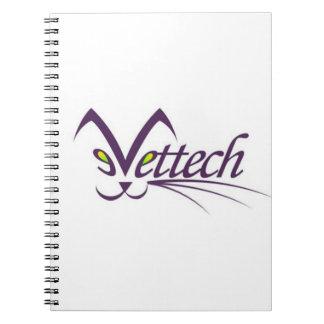Carnet de photo de Vettech pour des technologies d