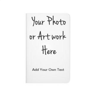 Carnet De Poche Ajoutez votre propre art, photo, texte