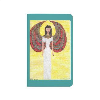 Carnet De Poche Ange égyptien antique
