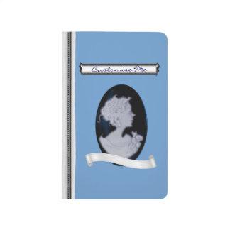 Carnet De Poche Camée classique (bleue)