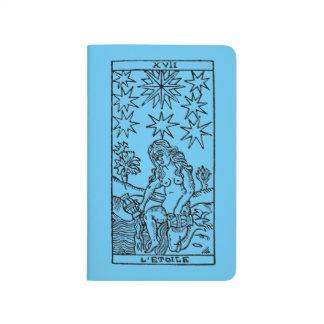 Carnet De Poche Carte de tarot : Les étoiles