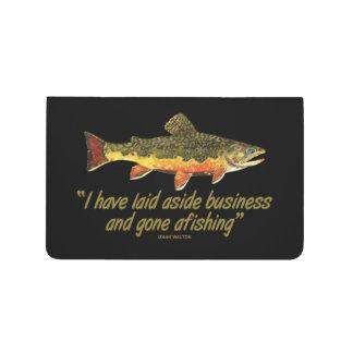 Carnet De Poche Citation de pêche de mouche