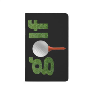 Carnet De Poche Conception de sports de golf d'amusement
