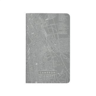 Carnet De Poche Croquis de carte de ville de Boston
