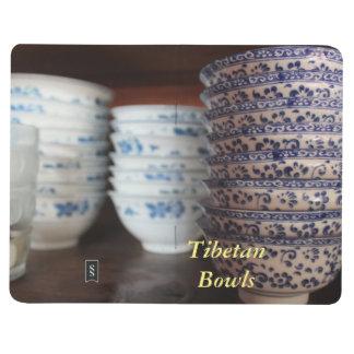 Carnet De Poche Cuvettes en céramique tibétaines d'Amdo