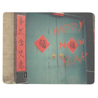 Carnet De Poche Décorations chinoises de porte de nouvelle année