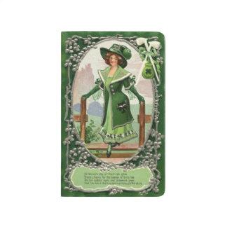 Carnet De Poche Domestique vintage élégante de St Patrick dans la