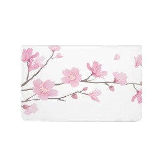 Carnet De Poche Fleurs de cerisier - arrière - plan transparent